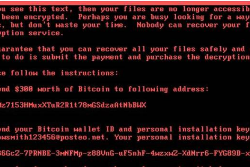 Avoid Petya, a kind of ransomware, by making sure your computer is fully patched